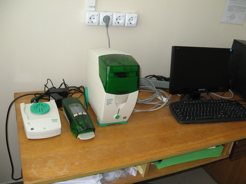 Experion automated electrophoresis system