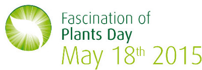 """The 3rd international """"Fascination of Plants Day"""" will be 18th May 2015"""